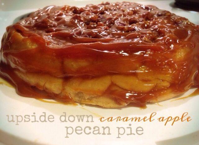 Upside+Down+Caramel+Apple+Pecan+Pie | enjoyed. | Pinterest