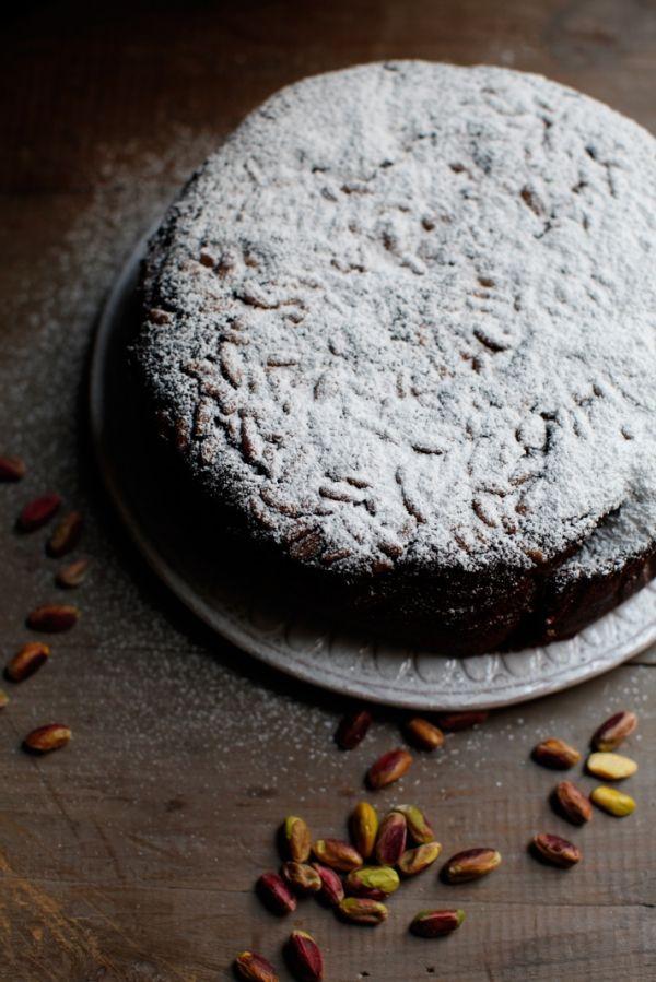 Pistachio-Olive Oil Cake Recipe — Dishmaps