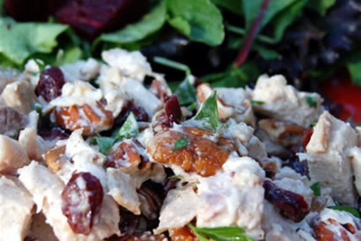 chicken salad with grapes and walnuts recipes dishmaps chicken grape ...