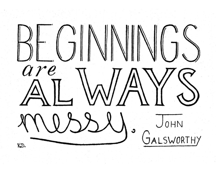 ... Wall Art, Baby Quote, Wedding Quote, New Job Quote, New Beginnings