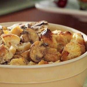 Roasted Parsnip Bread Pudding | THANKSGIVING | Pinterest