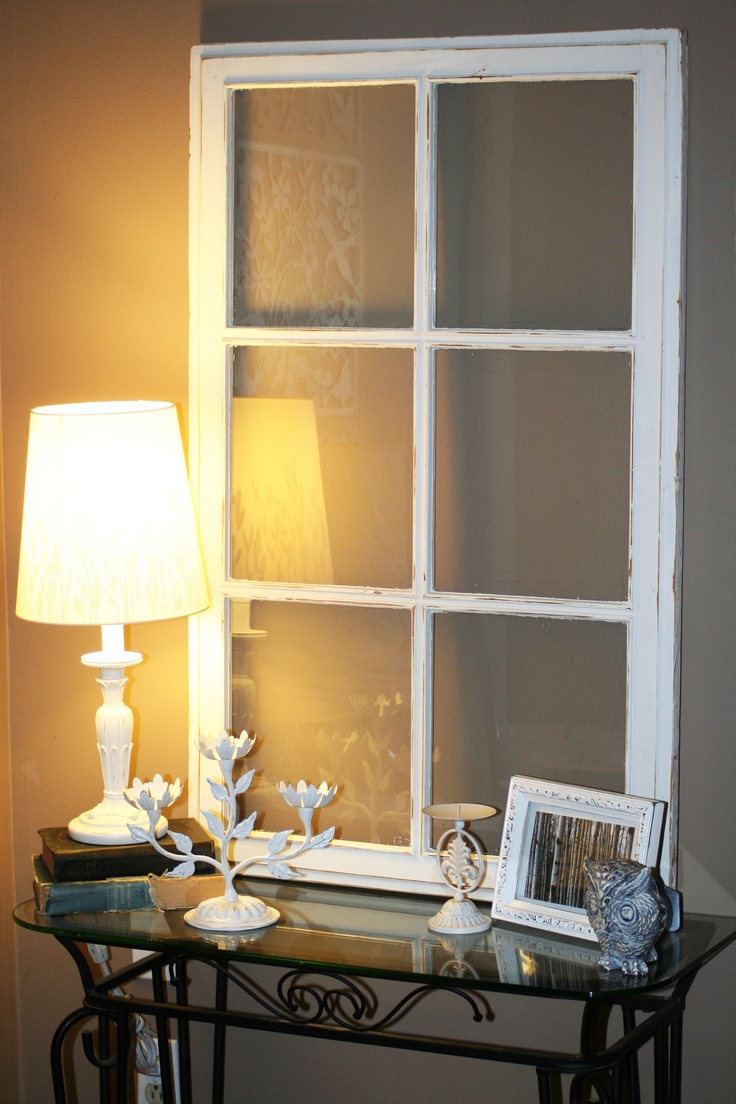 An old window home decorating pinterest for Best home decor boards on pinterest
