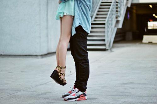 Shorts Tall Guy Short Girl
