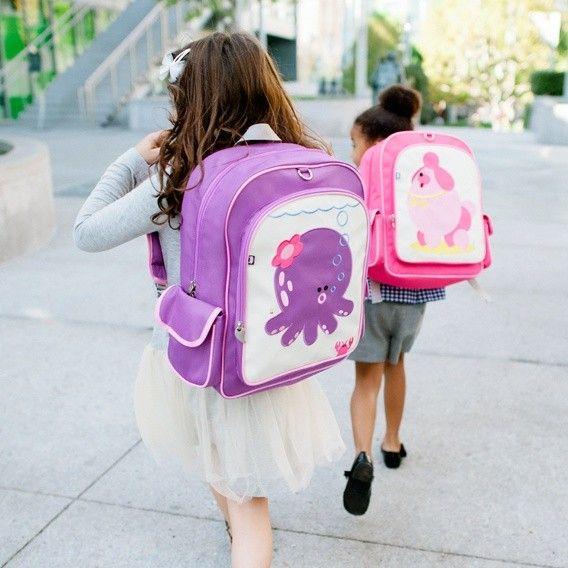 ... Kid Backpack- Penelope the Octopus- Sold at 3 Little Monkeys (Ottawa
