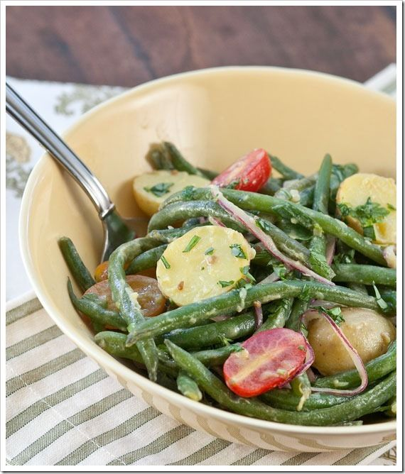 Green Bean and Potato Salad with Dijon Vinaigrette ~ Great with any ...