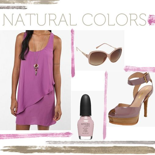 Spring Trends -  Natural Colors