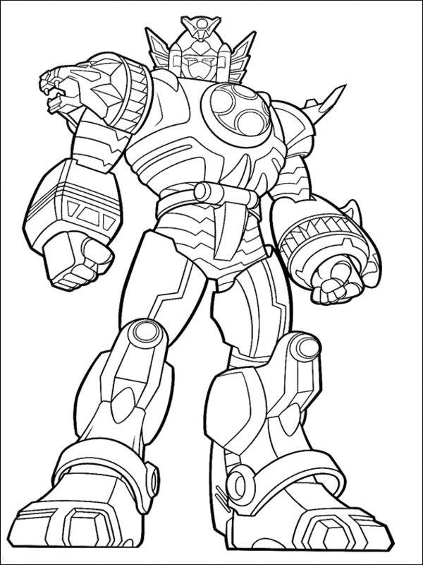 Power Ranger Ninja Storm Megazord Coloring Pages Coloring Megazord Coloring Pages