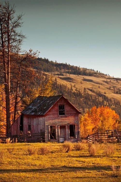 Old Red Barn Barns Pinterest