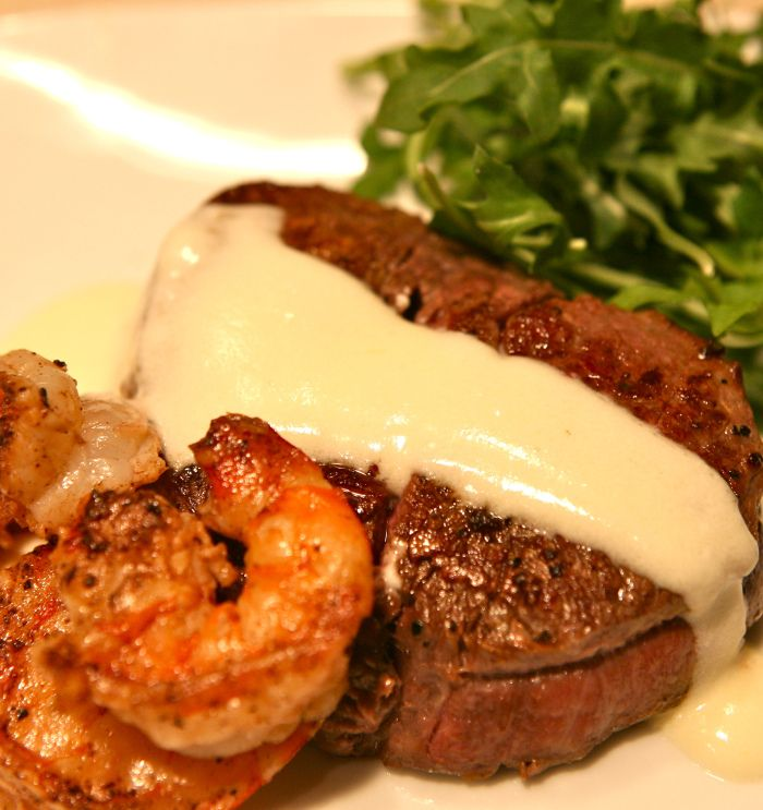 shrimp cream sauce filet mignon bites with creamy horseradish sauce ...