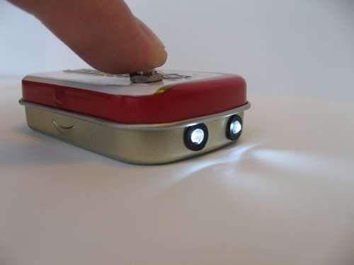 diy altoids flashlight