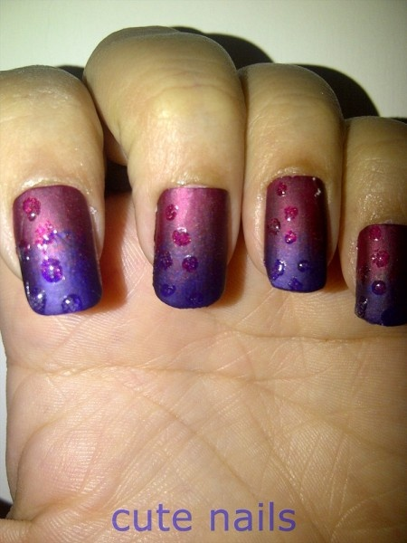 dew drops nail art | StyleCraze | Nail ideas | Pinterest