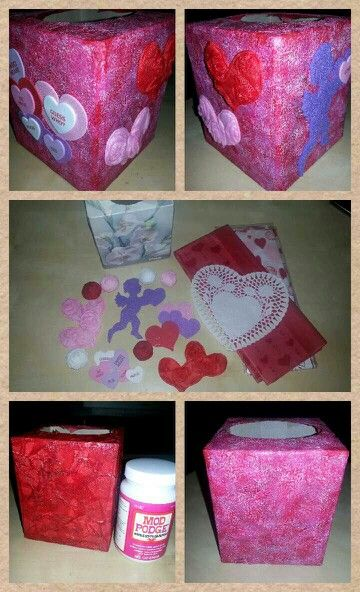 valentine's day tissue box