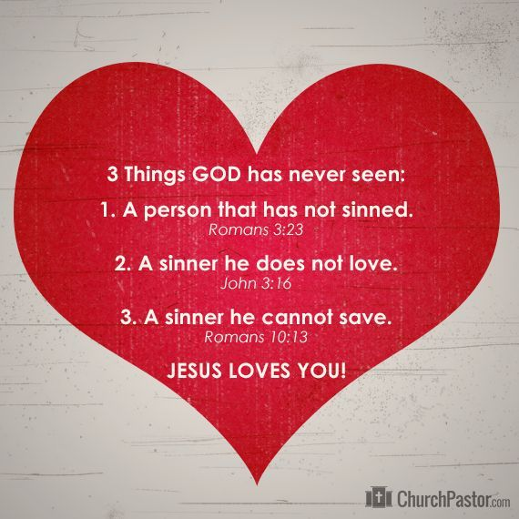 3 Things God Has Never Seen