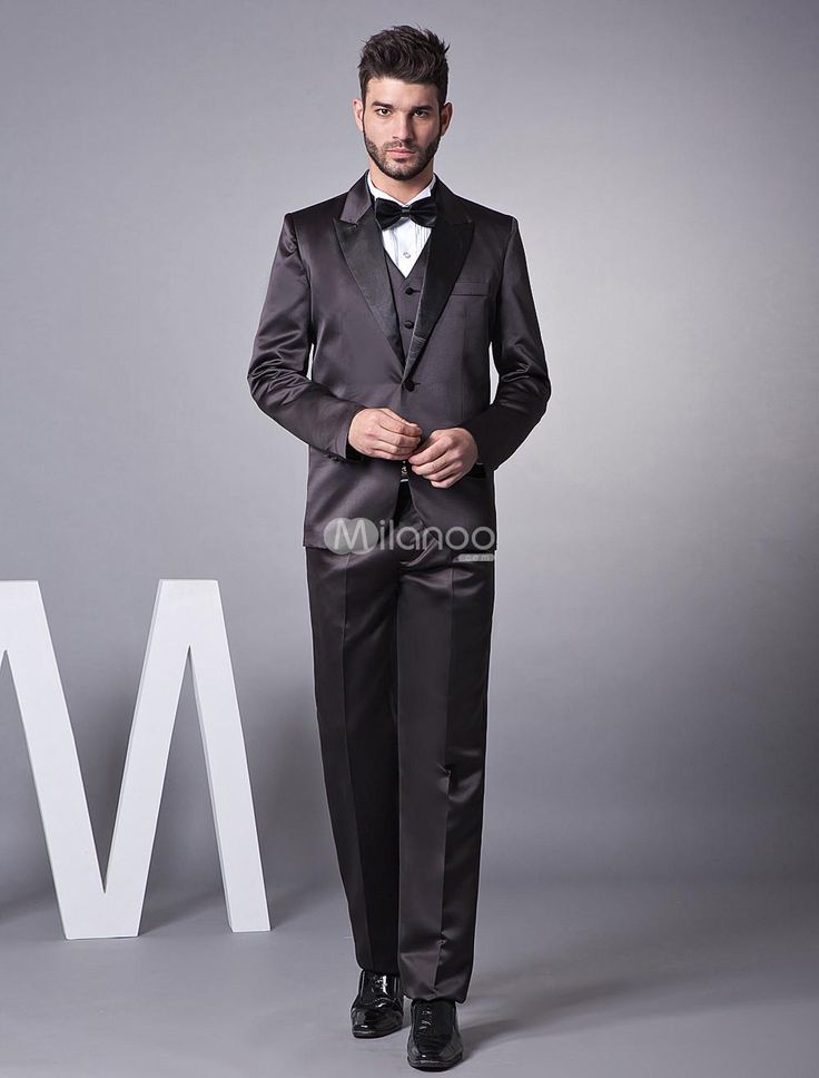 Black Groom Wedding Tuxedos