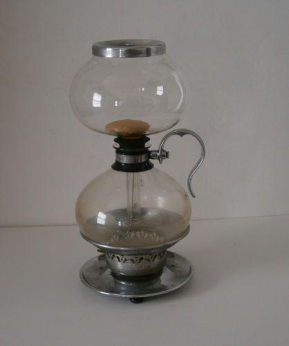 Glass Pot For Coffee Maker : VTG Silex Pyrex Vacuum Coffee Maker Glass Pot Percolator
