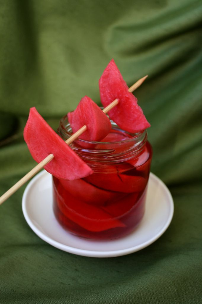 Grilled Watermelon Salad And Pickled Radishes Recipe ...