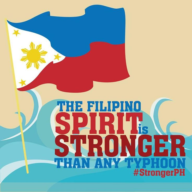 The Filipino SPIRIT is STRONGER than any Typhoon. #StrongerPH #RedCrossPH