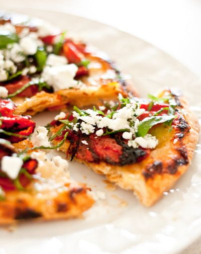 Tomato and #Basil Tart #Appetizers (Credits: photo from twospoons ...