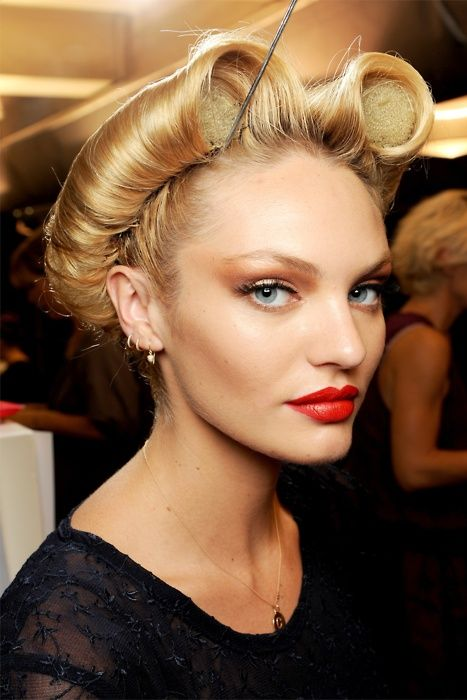 Runway hair #fashion #model #blonde | Runway Hair,Makeup ...