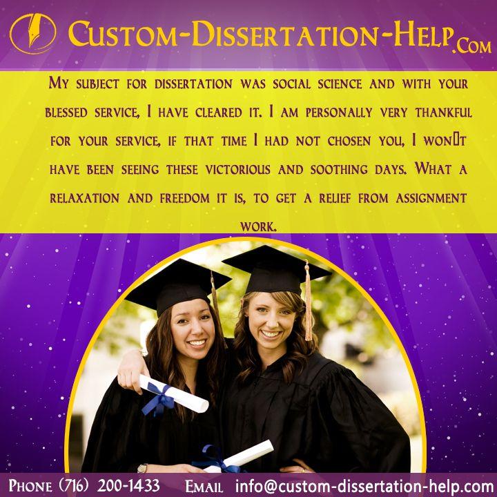 Custom Dissertation Writing Service | 100% Original Thesis Papers
