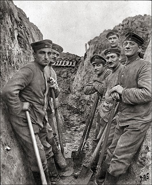 life in the trenches world war The daily life of soldiers  an alpine barber in the trenches of cerna, a photograph of life in the albanian trenches the world war in photographs.