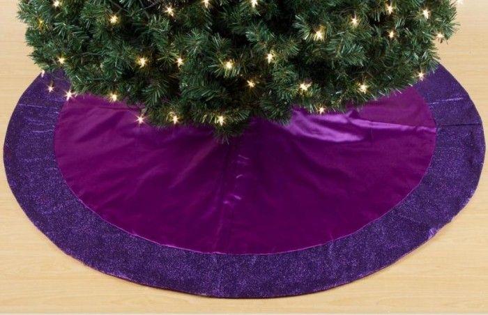 Tree Skirt Purple 112