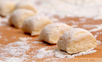 Ricotta-Gnocchi - very easy and delicious