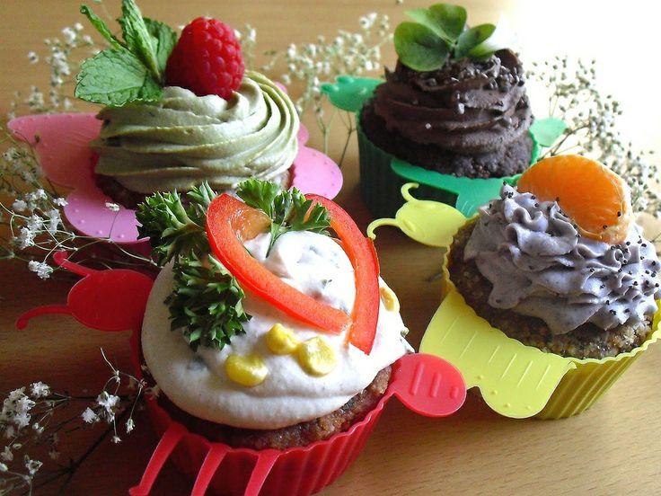 Raw Vegan Cupcakes from Rawdorable | Unusual Cupcakes | Pinterest
