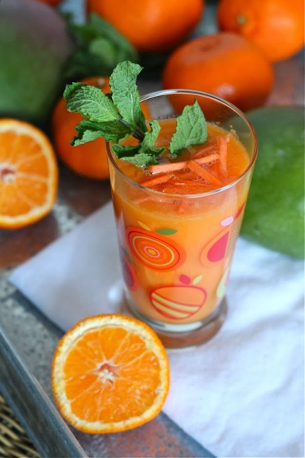 Carrot-Mango Smoothie Recipes — Dishmaps