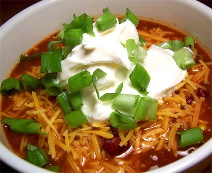 turkey chili that I am going to try soon