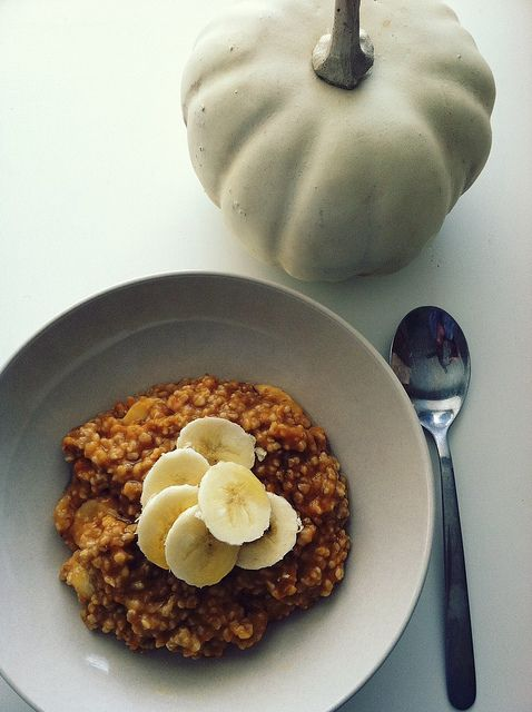 Pumpkin Steel Cut Oats-I made this for breakfast this morning and it ...