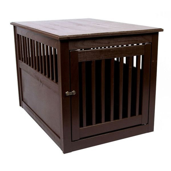 Dynamic Accents End Table Dog Crate Poplar