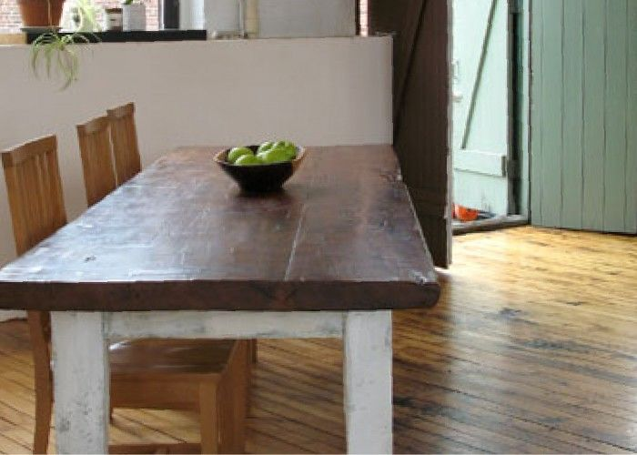 Small Rustic Farm Table Kitchens
