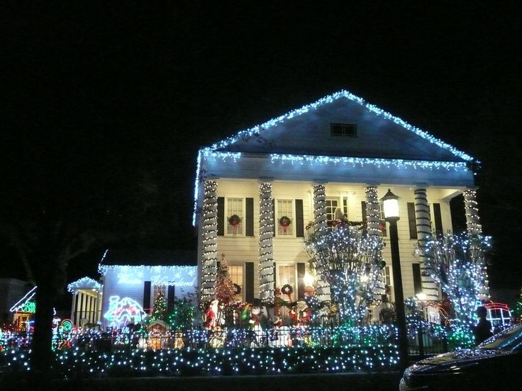 Decorated House in Celebration