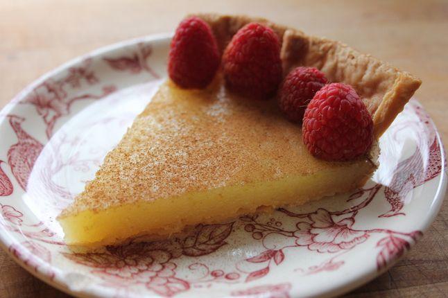 Vinegar Pie | Baking and Candies | Pinterest