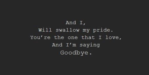 Soundgarden Lyrics - Swallow My Pride