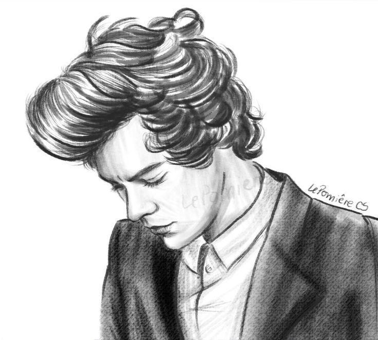 Harry styles   1D Cartoon   Pinterest