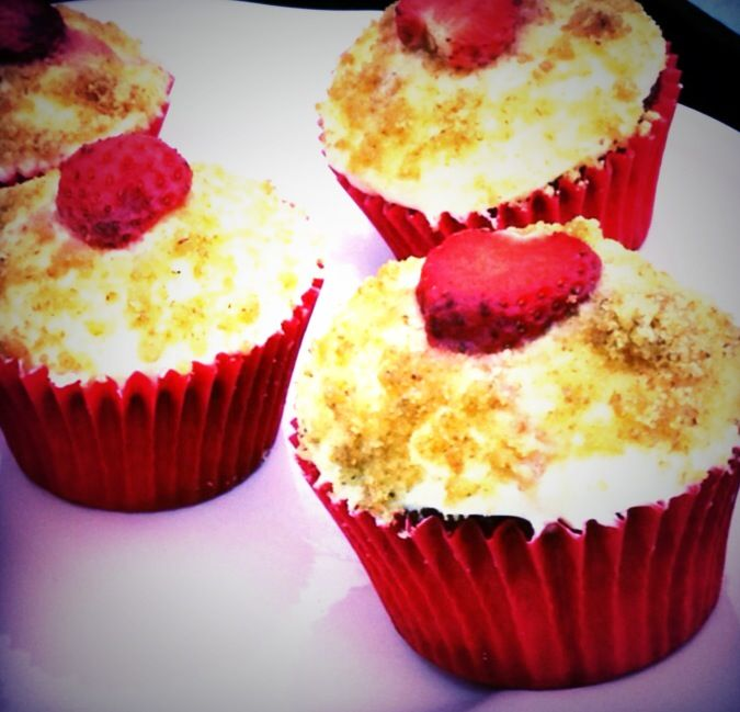 Strawberry cheesecake cupcakes | Cakes, Cookies, Pies,and OH My ...