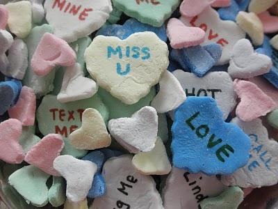 Homemade Conversation Hearts | My Style | Pinterest