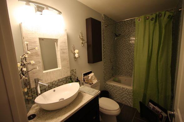 Bathroom h o m e pinterest for Small galley bathroom ideas