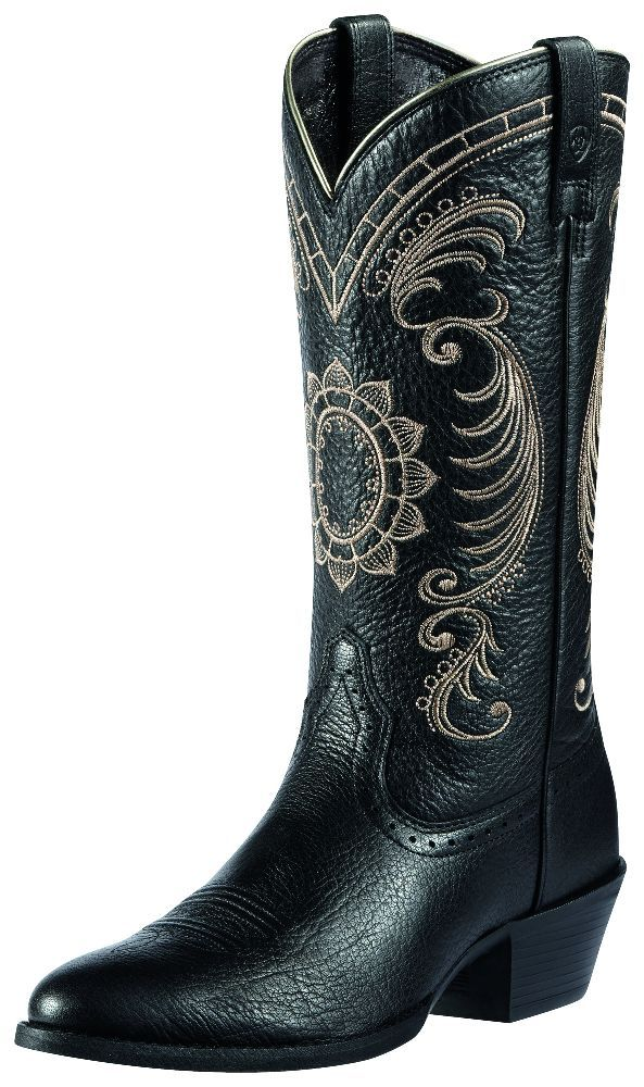 ariat western boots womens cowboy magnolia onyx 10010969