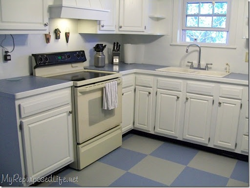 Painting Oak Kitchen Cabinets White Image Review