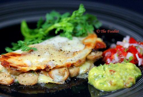 Mushroom Quesadilla | Recipes: Main Dish | Pinterest