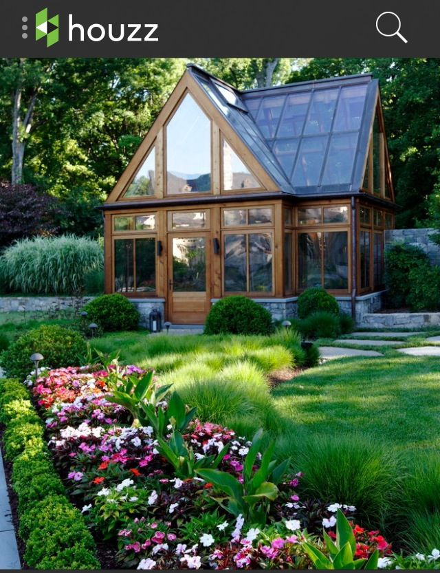 Beautiful green house or guest house