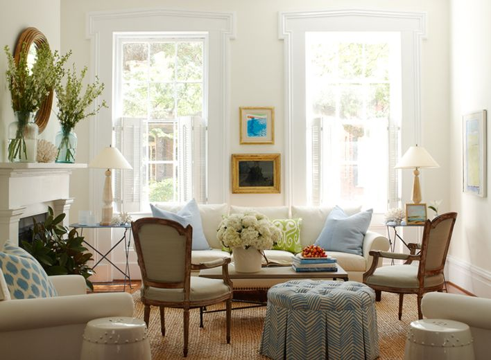 White living room decorating ideas