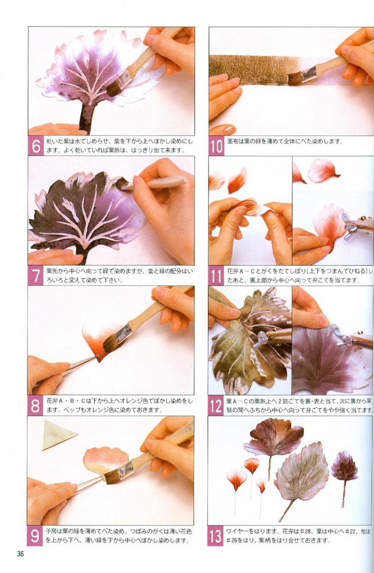 Silk And Fabric Flower Making Tutorial Japanese Somebana