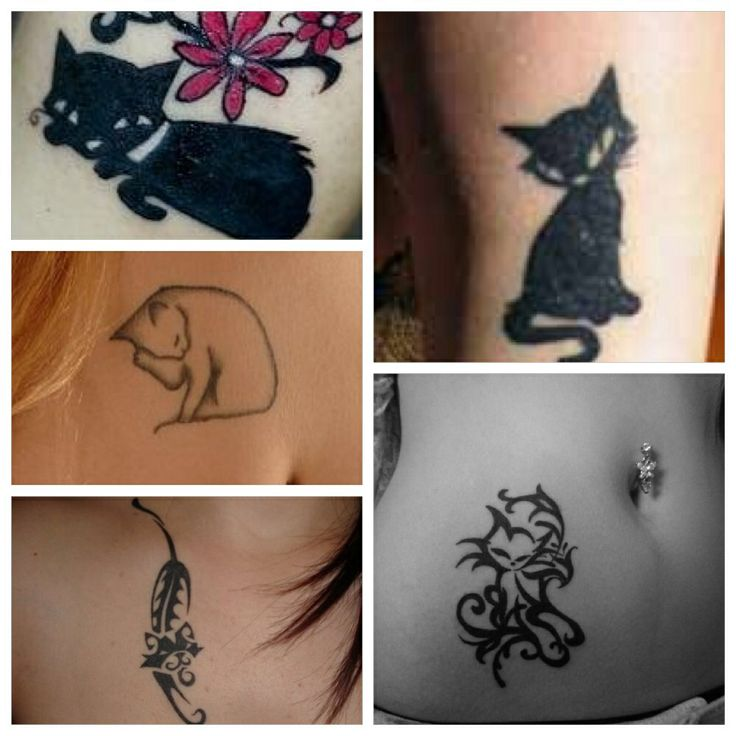 Unique Cat Tattoos Tattoo Ideas Pinterest