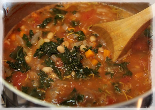 kale and white beans recipes dishmaps noodle soup with kale and white ...