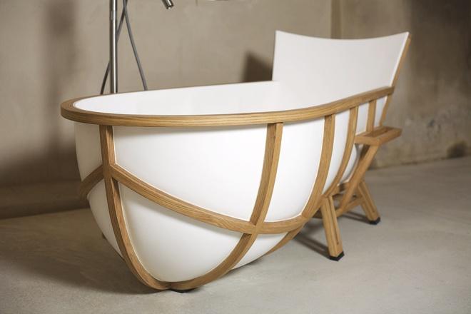 unique bathtub design by studio thol 39 s bathtubs pinterest