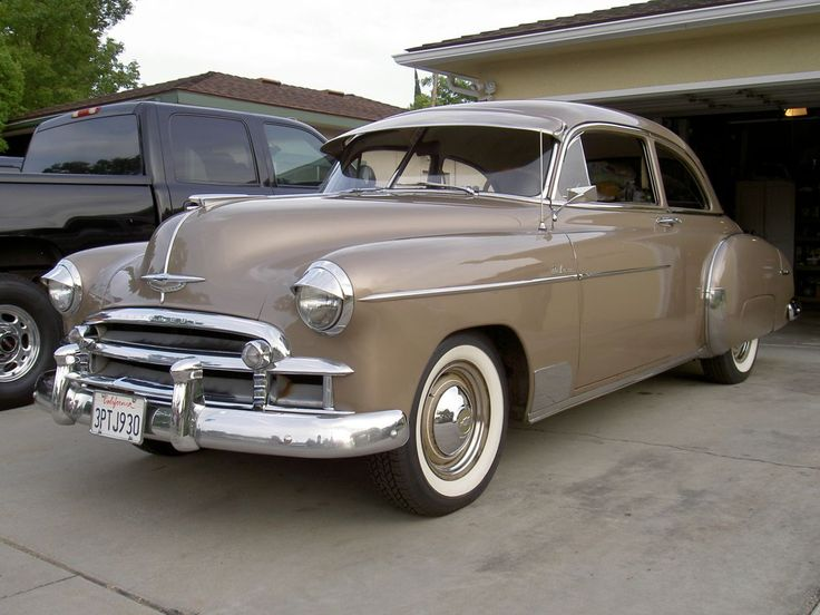 1950 chevrolet 2 door hardtop for sale